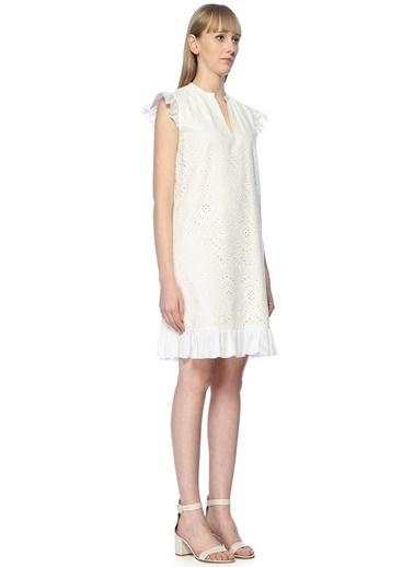 Belle Epoque Elbise Beyaz